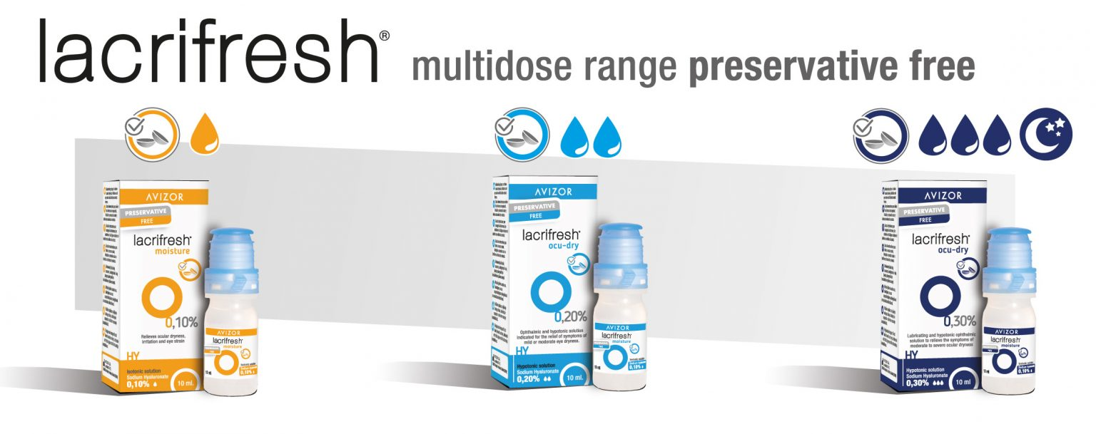 Avizor - lacrifresh multidose range