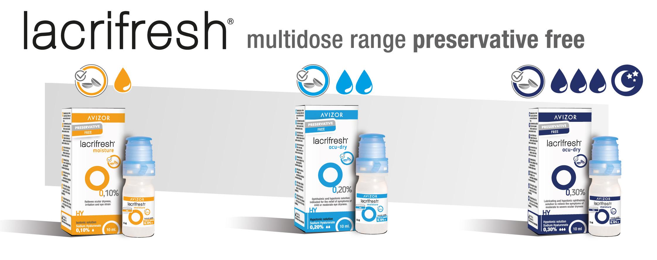 Avizor - lacrifresh multidose range